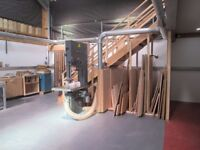 NORTH CORNER MAKERS: shared woodworking workshop with machines/great extraction/ shared kitchen