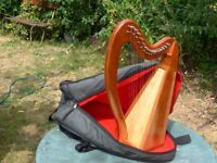 Celtic Lap Harp by Stoney End USA