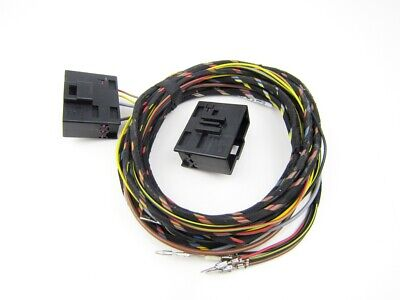 For Audi A3 8P + Sportback Wiring Loom Harness Cable Set Heated Seats Sh Adapter