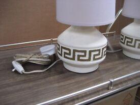 1970's TABLE LAMPS RETRO LAMPS RETRO 1960'S TABLE LAMPS PAIR OF RETRO TABLE LAMP