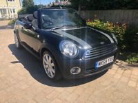 2010 MINI COOPER CONVERTIBLE 1.6 - ONLY 46000 MILES - 2 OWNERS- PARKING SENSORS