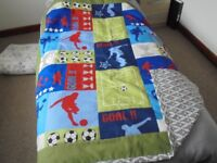 Various quilts/sofa throws all homemade!