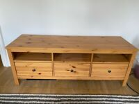 Ikea Hemnes Pine TV unit
