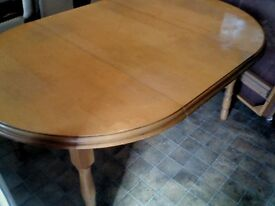 table in good condition