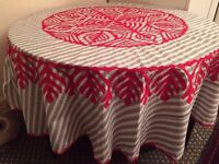 new round table cloth/ covers