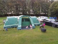 8 man tent large 4 double bedroom