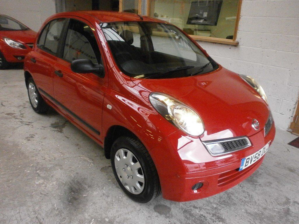 2008 NISSAN MICRA 1.2 VISIA 5DOOR, HATCHBACK, SERVICE HISTORY, HPI CLEAR,VERY CLEAN LIKE NEW