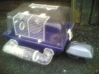 Pets at Home Small Plastic Dwarf Hamster / Mouse Cage / Home