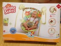 Brand New Kids Bright Starts Portable Swing