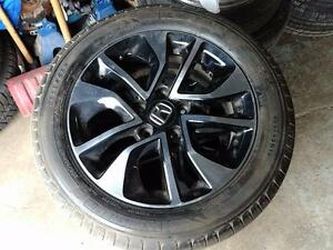 205 55 16 Michelin Premier tires 90% tread on OEM Honda Civic  alloy rims 5 x 114.3 from $700 set