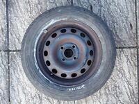 Pirelli space saver alloy wheel with tyre 175/65 R14 86T 4 stud honda civic