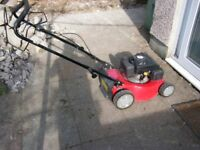 petrol lawn mower in good condition