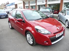 RENAULT CLIO 1.5 INITIALE TOMTOM DCI 5d 105 BHP (red) 2010