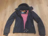 Superdry coat windcheater size m