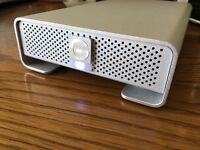 G-Technology 500GB G-Drive Q Quad Interface External Hard Drive, Unused