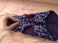 Dog coat size medium/ large
