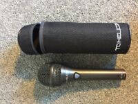 TC-Helicon MP-75 , Dynamic Vocal Microphone Incl. Mic Control of TC-Helicon Vocal Effects / USED.