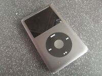 160GB Apple iPod Classic 6th Generation Black/Gray