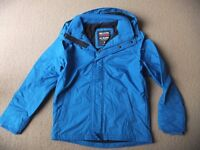 ( New with tag ) Hollister Guys / Men's Blue All-weather Fleece Lined Jacket, size S or M - £25