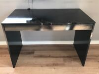 Black gloss desk for sale