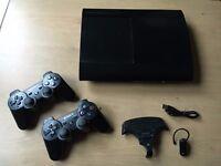 PS3 slim plus accesories