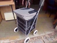 Shopping Bag Trolly On Wheels Delivery Available £5