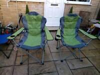 Eurohike camping chairs