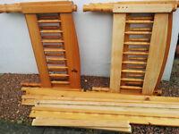 **TAKEN**Wooden Bed Frame - Single Bed
