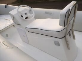 New Mercury Double Jockey console seat for RIB rigid inflatable boat suits 4 - 5M ribs