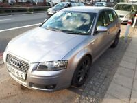 2008 Audi A3, 80K on the clock, 2.0L, 170 BHP