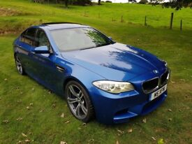 BMW M5 4.4 twin turbo DCT 553bhp - High Spec and showroom condition