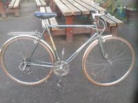 Vintage Raleigh MERLIN Road Bike Hybrid l'eroica 22.5cm Frame Brookes MINT Condition