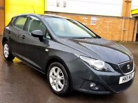 2011 SEAT IBIZA 1.2 TDI ECOMOTIVE CR £0 ROAD TAX 15.000 MILES ONLY P/X CONSIDERED