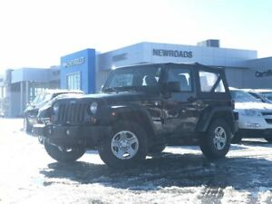 2013 Jeep Wrangler Sport Sport, MANUAL, ONE OWNER, NO ACCIDENT