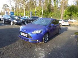Ford Focus ST-2 (blue) 2013-09-26