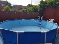 12 foot swimming pool