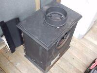 Multifuel Stove (coal or wood), Sunrain JA , Cast Iron Grey, 55kg, 4kw, Unused - £200