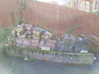 Free bricks and roof tiles