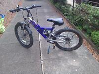 Boys bike / bicycle with six gears