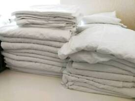 BEDDING SETS DUVET SHEETS PILLOWCASES FOR SERVICED APARTMENTS, HMO, GUEST HOUSES
