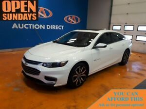 2017 Chevrolet Malibu LT PANO SUNROOF! LEATHER! NAVI!