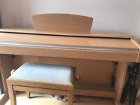 Yamaha Arius YDP-140 digital piano. Excellent condition, comes with stool, headphones and manual