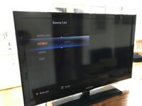 "40"" SAMSUNG LE40C530F1W 1080p FULL HD LCD TV WITH FREE VIEW IN EXCELLENT CONDITION"