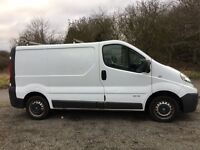 Renault Traffic /( Vivaro) 08, 73000 Low Miles New MOT Clean and tidy through out