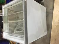 Clear top freezer