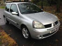 RENAULT CLIO 1.2 16V Extreme 4 3dr (silver) 2005
