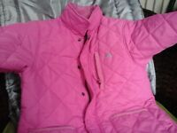 GIRLS QUILTED AGE 9-10 TRESPASS COAT