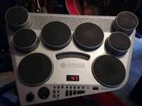 Yamaha DD-65 electronic drum kit and snare stand