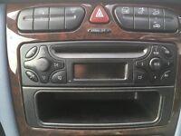 Mercedes Audio 10 Radio CD player (with storage tray)