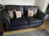 ScS grey 2&3 seater suite